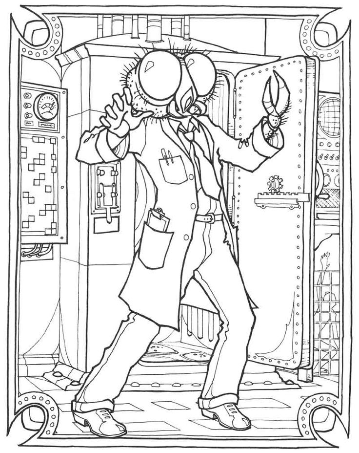 monster gallery coloring book google search - Monster Coloring Book