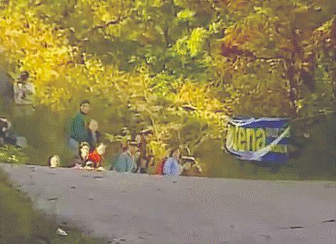 Subaru WRC team-San Remo 1996