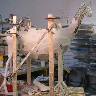 large scale sculpture