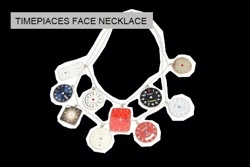 timepieces face necklace by carmina campus