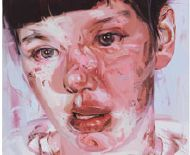 JENNY SAVILLE  Red Stare Head IV