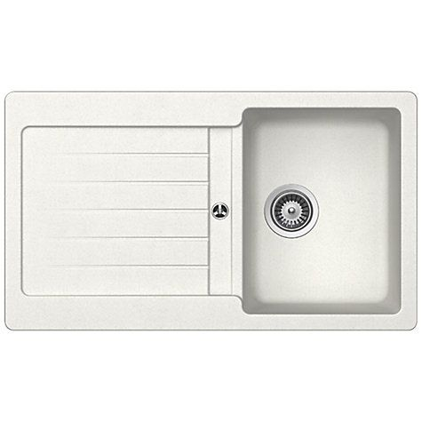 Buy Schock Typos Single Bowl Kitchen Sink Online at johnlewis.com