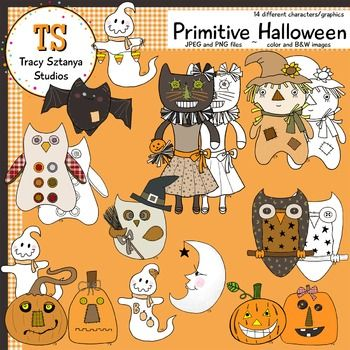 Primitive Halloween {Tracy Sztanya Studios}