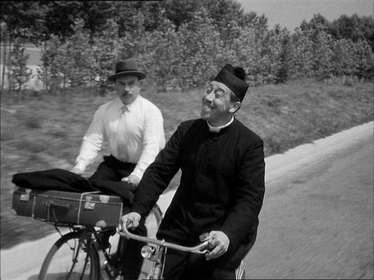 Don Camillo e l'onorevole Peppone (1955), starring Fernandel and Gino Cervi.