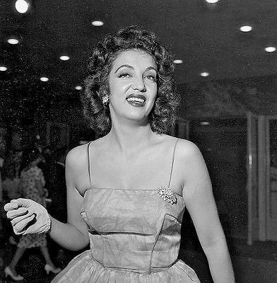 Vintage Actress KATY JURADO Original B&W 120 Film Negative
