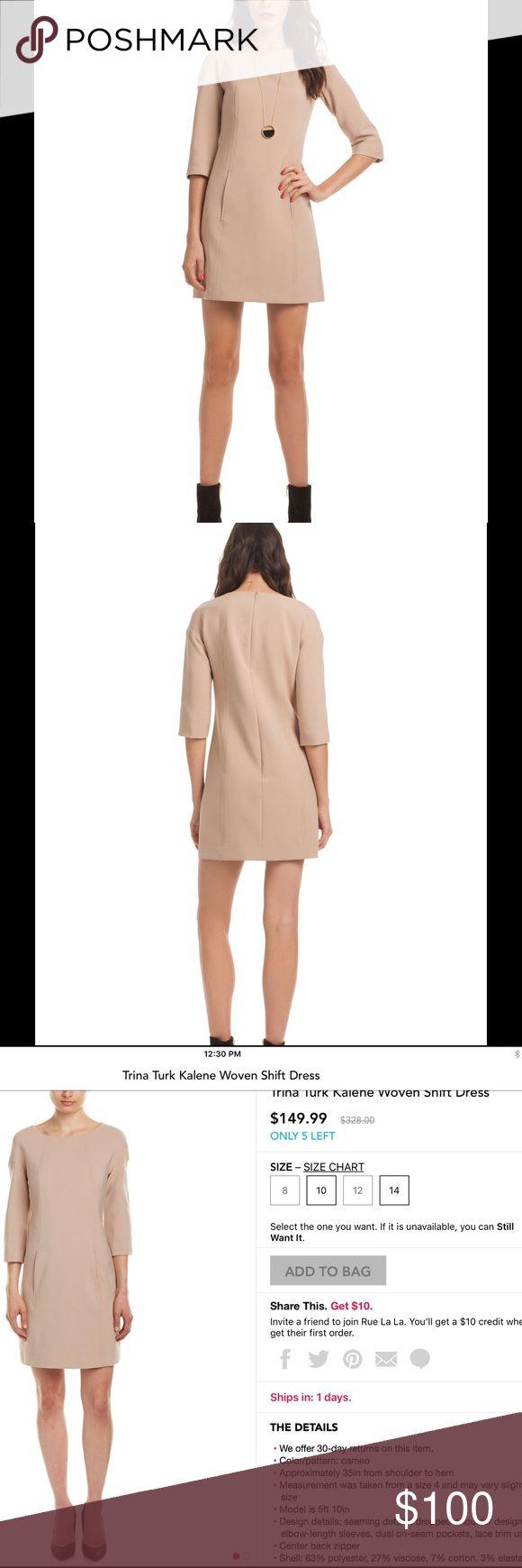 NWT Trina Turk Kalene Dress Fun dress for work or play! Fully-lined. Zip back. Trina Turk Dresses