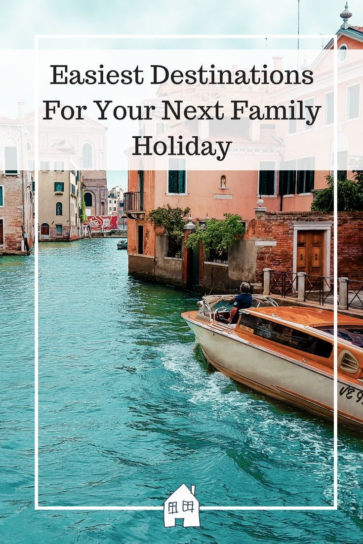 We all know that taking the family on holiday can be quite stressful, and it pays to find the easiest destinations for your next family holiday