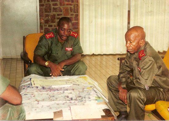 www.deboutcongolais.info Général-Major Joseph Kabila (Août 1998)