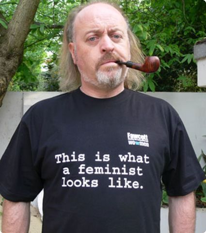 Bill Bailey was one of my favorite team captains on NMTB...his shirt is also fabulous! I love men that are feminist.