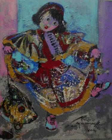 "Saatchi Art Artist Seba Art Gallery; Painting, ""AYSU GUNAY"" #art"