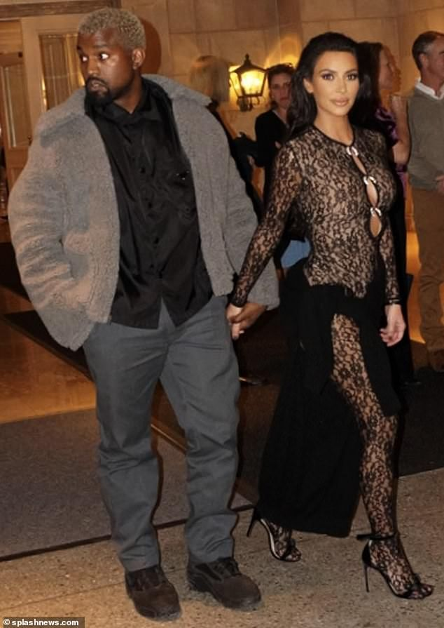 ba92173e1b84 Kim Kardashian and hubby Kanye West enjoyed a dinner date in San Francisco  Saturday before heading back to LA for close friend John Legend s birthday
