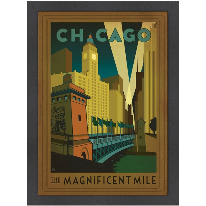 Magnificent Mile Wall Art