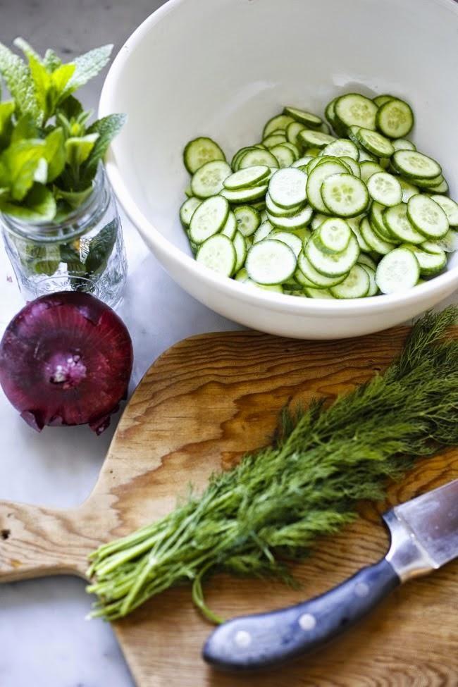 Салат из огурца по-турецки | Четыре вкуса