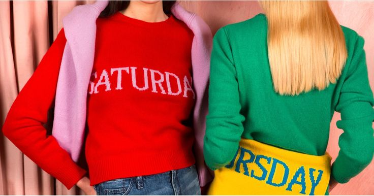 """The """"Days of the Week"""" Sweater You're Seeing Everywhere https://www.popsugar.com/node/43078706"""
