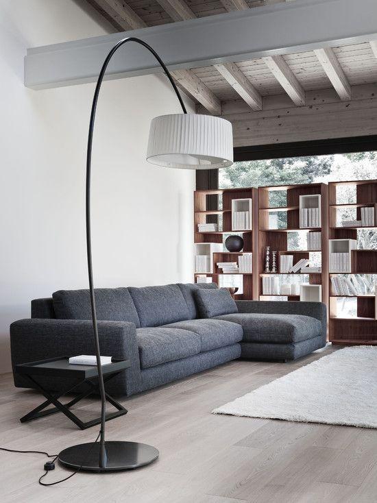 Grey Oak Flooring Design, Pictures, Remodel, Decor and Ideas: Interior Design, Decor, Modern Living Rooms, Ideas, Livingrooms, Family Room, Room Design, Sofas