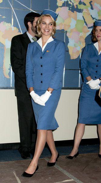 Pan Am TV Cast: Margot Robbie ~ World stewardess Crews