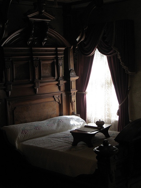 bedroom in the Winchester Mansion, CA