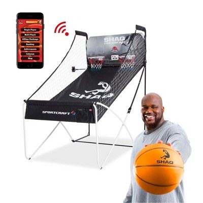 Shaq Cyber Hoop Shot Basketball Arcade Traditional and Online App Game