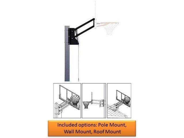 Spalding Basketball Backboard U-turn Lift System SPN054