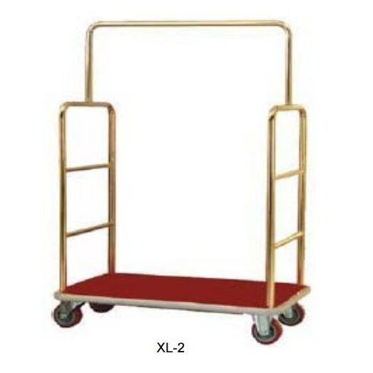 Porters Trolley – Brass Plated Surface Finish