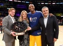 Hublot devient premier Official Timekeeper des Los Angeles Lakers