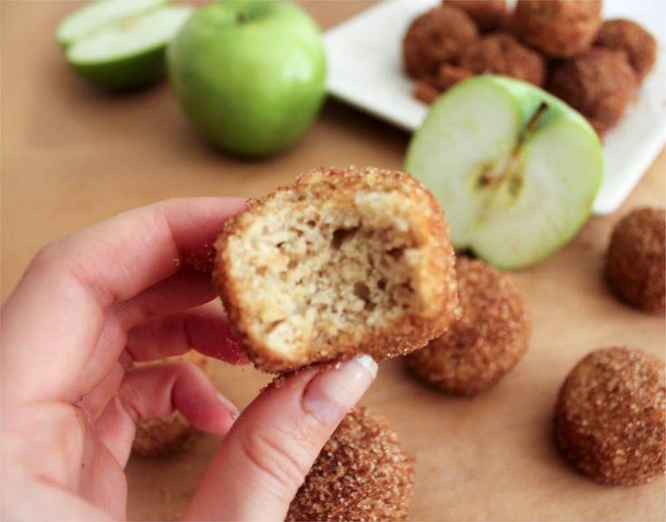 Apple Cinnamon Baked Doughnut Holes | Recipe