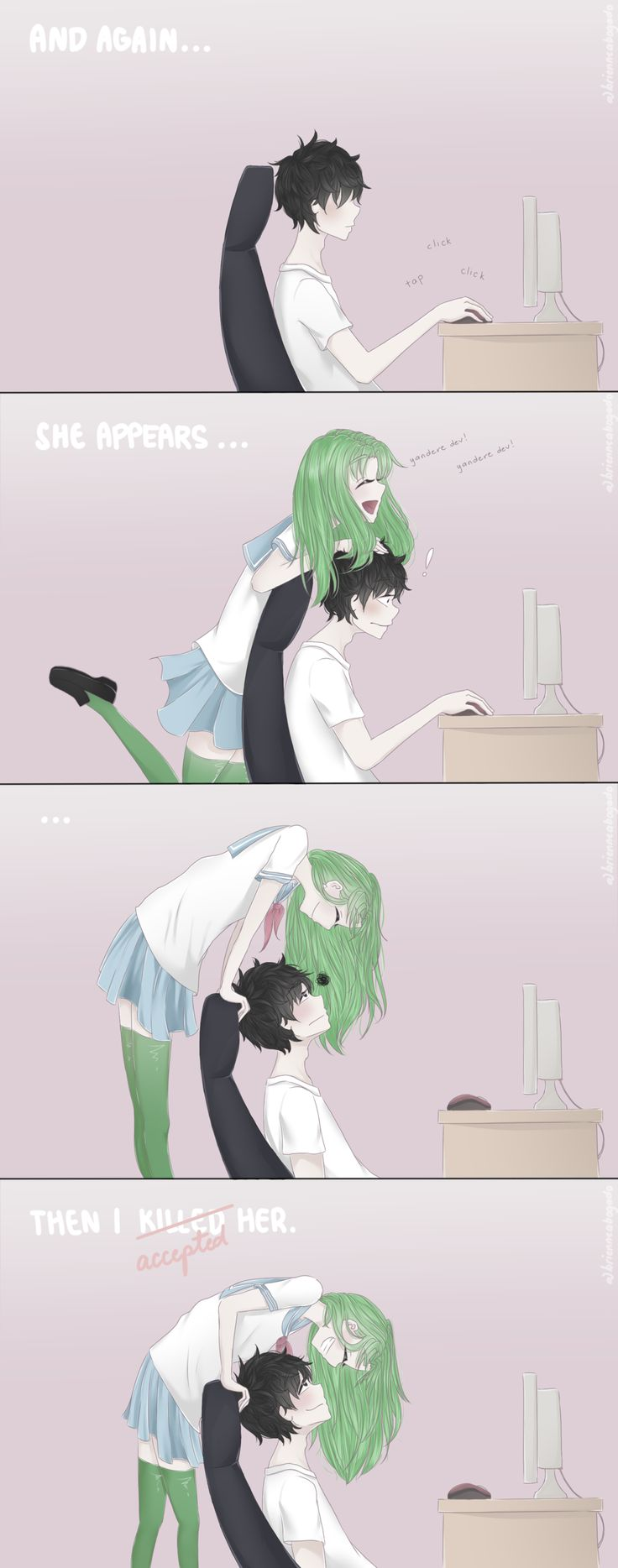 Game development blog yandere classmates anime pinterest nice - Yandere Dev And Midori Gurin