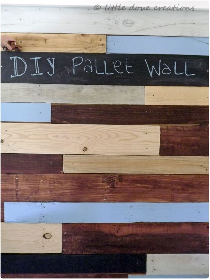 Back in March I shared a peek of my son's pallet wall , then in April I shared his whole room and you got to see how the pallet wall looke...