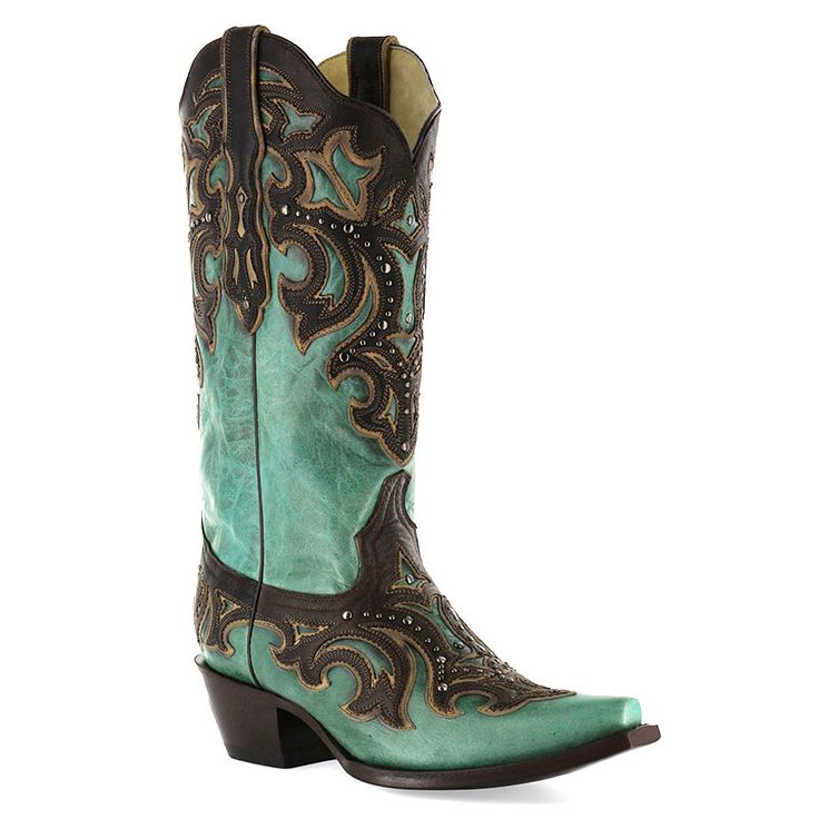 Corral Women's Overlay Western Fashion Boots