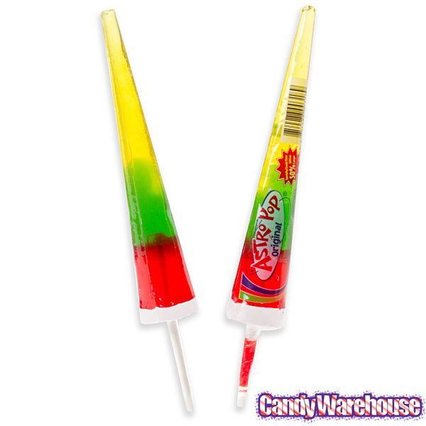 We've been over the moon since Astro Pops are back in orbit at CandyWarehouse.com! We loved them as kids, and now they are back and better than ever.  Astro Pop Lollipops: 24-Piece Box