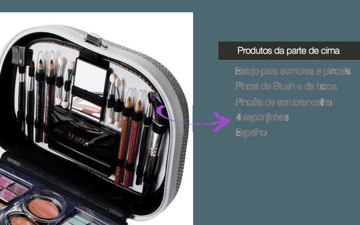 Maquiagem fenzza maleta