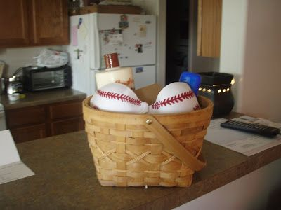 """My little darling is a firecracker!"": Baseball Bra"