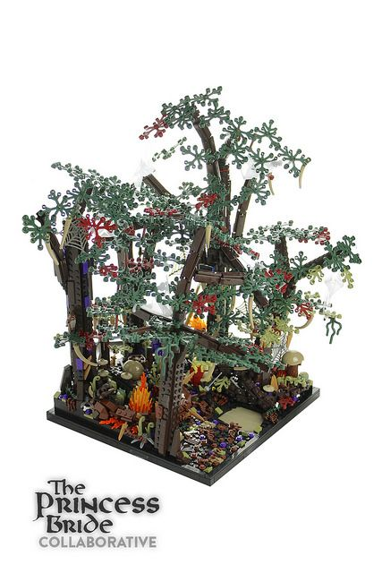 The Princess Bride recreated in LEGO by team of builders at Brickworld