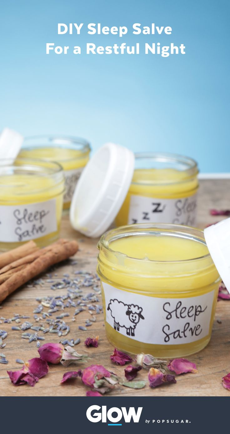 This DIY sleep salve will leave you feeling calm and rested as a natural aid to help insomnia and every day stress. Sweet dreams!