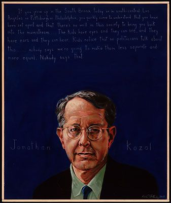 jonothan kozol National book award-winning author jonathan kozol presents his shocking  account of the american educational system in this stunning new york times.