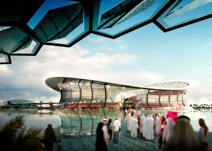 Foster + Partners wins Lusail Stadium job for controversial Qatar 2022 FIFA World Cup.