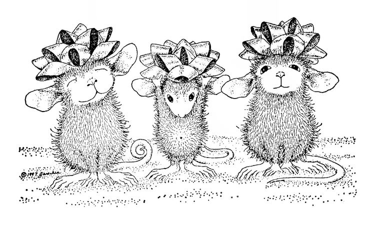 house mouse designs coloring pages - photo#38