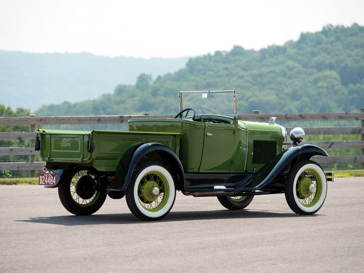1930–31 Ford Model A Open Cab Pickup