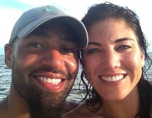 Hope Solo's 911 call from the day of her planned wedding to Jerramy Stevens has been released.