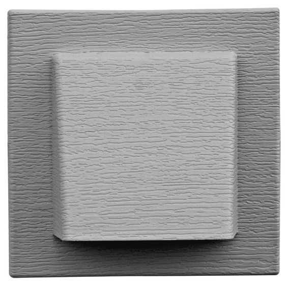 builders edge 140110774016 fiber cement 4 hooded vent 016 gray want