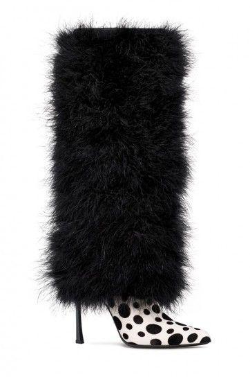 ** Stivali in pelliccia Sergio Rossi / Apres ski maybe?