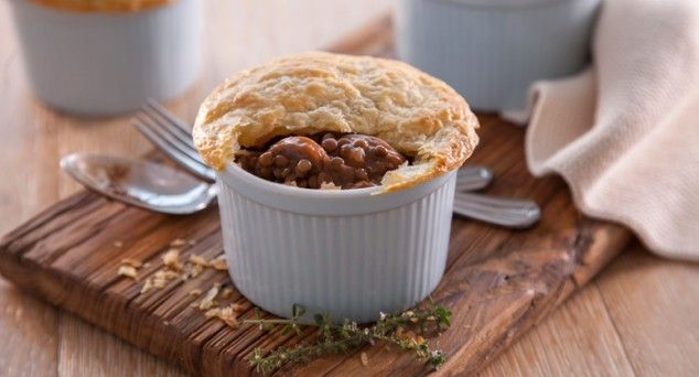 These Sausage Pot Pies from Sprinkles & Sprouts are packed with a punch (and an extra vegie)!  #winter #homemade #recipe