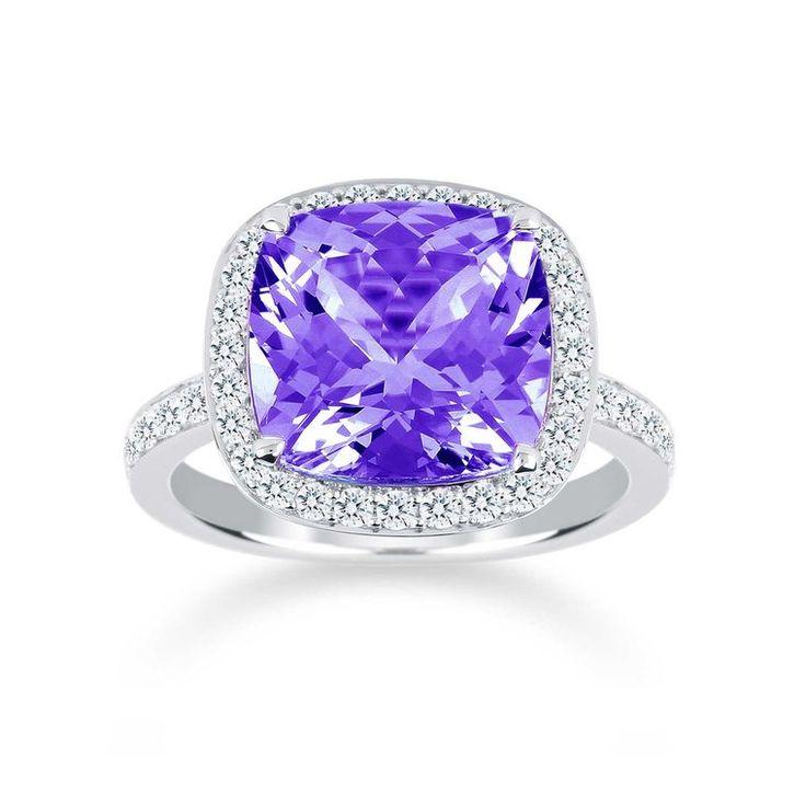 Mappin & Webb Prima amethyst engagement ring