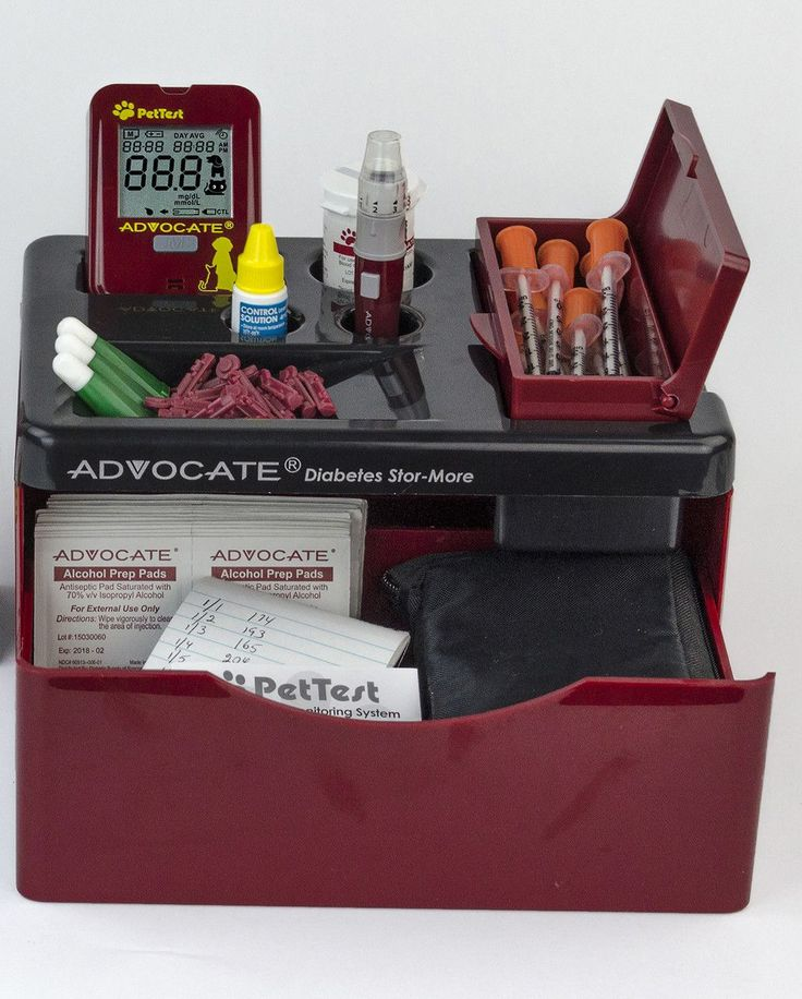 Advocate Stor-More Diabetes Supply Organizer
