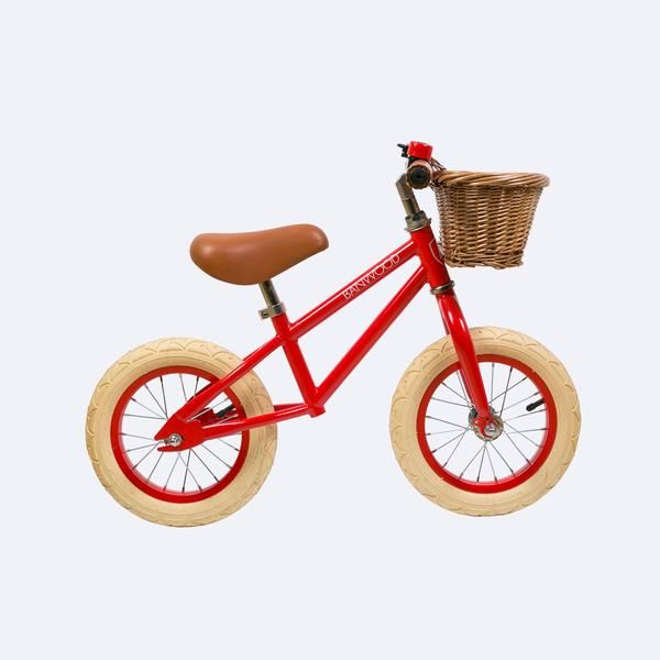 "First Go 12"" Balance Bike – Red - ModernMinor"