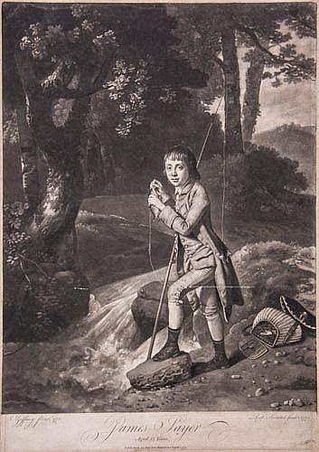 c. 1770s Portrait of James Sayer by Richard Houston