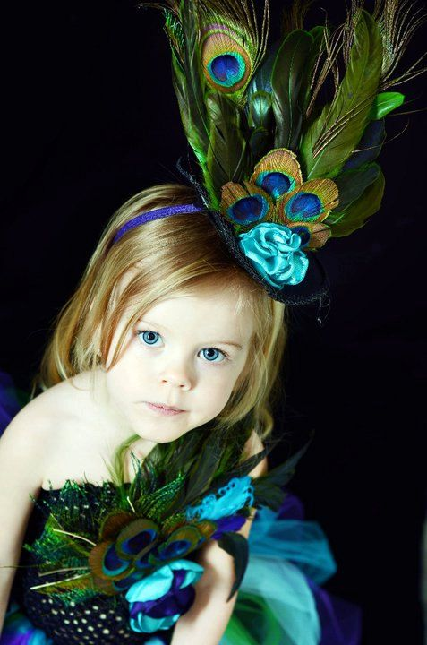 Peacock tutu dress for pageants weddings by YourSparkleBox on Etsy, $97.95