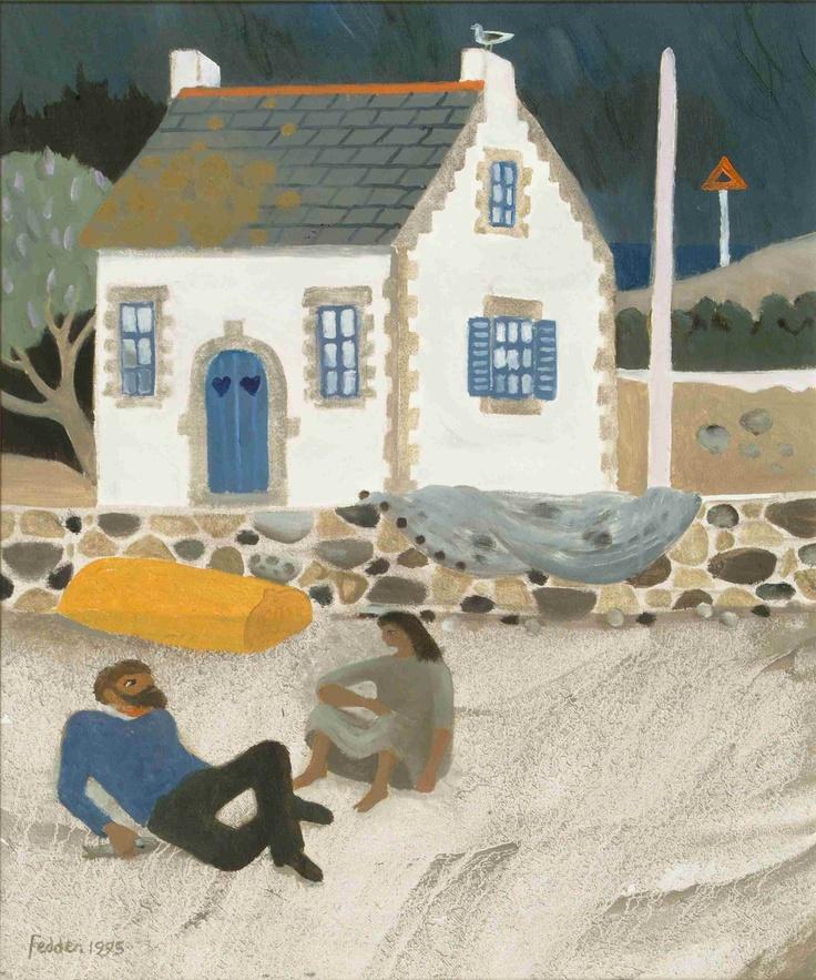 Britanny by Mary Fedden OBE RA (1915 - 2012)