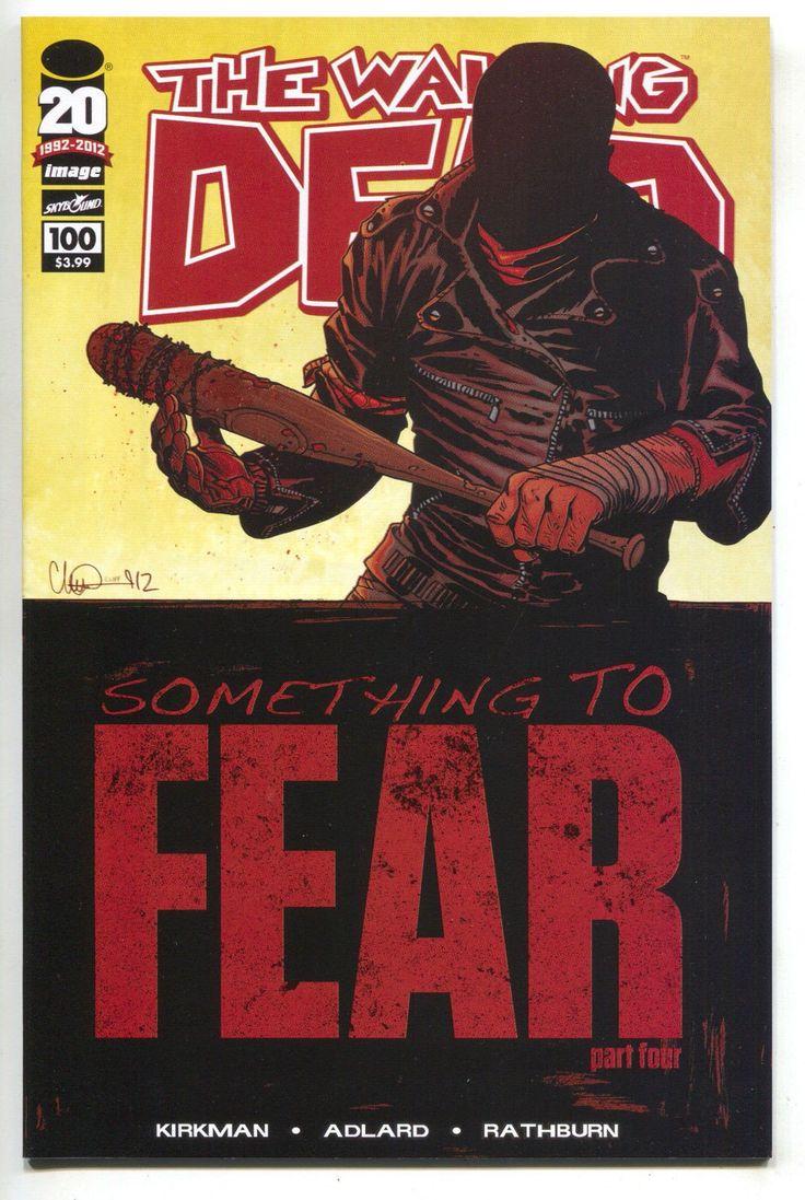Walking Dead 100 Image 2012 NM 1st Print Robert Kirkman Negan Death Glenn