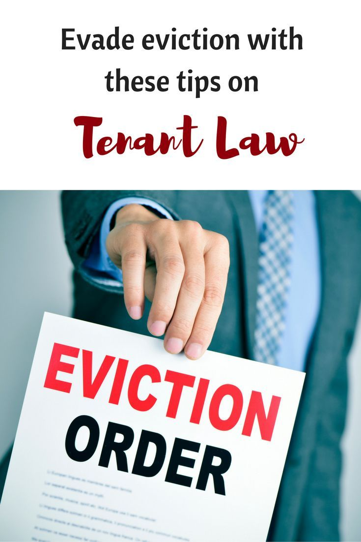 Eviction Laws That Can Help Tenants Stay in Their Home   Tips for